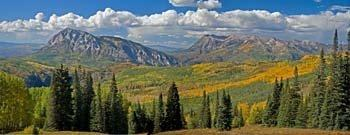 Hiking Biking Adventures-Crested Butte Colorado-Horse Ranch Park Viewpoint Trail