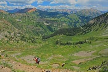 Hiking Crested Butte Colorado-Daisy Pass Trail