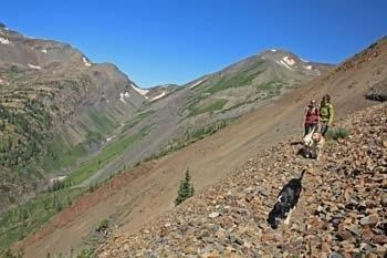 Hiking Crested Butte Colorado-Yule Pass Trail