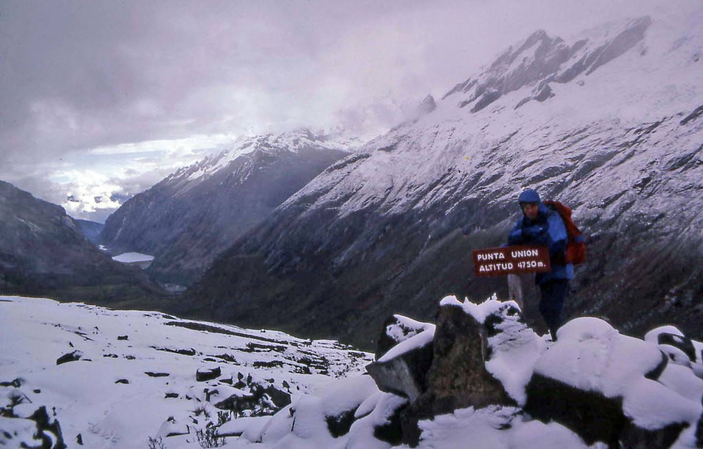 Hiking Huascaran National Park Peru