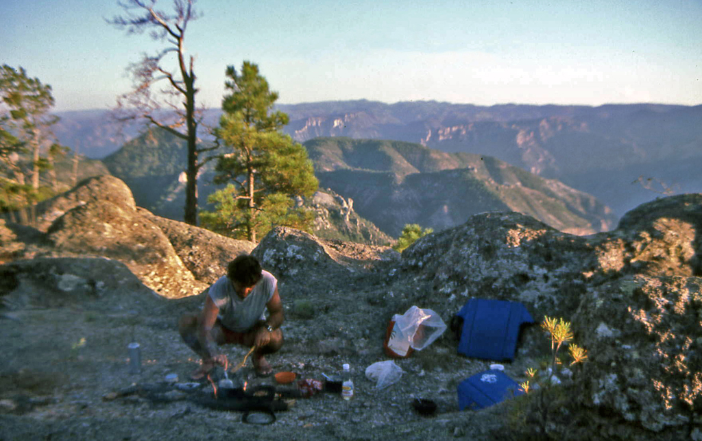 Hiking Copper Canyon-Camping on the plateau