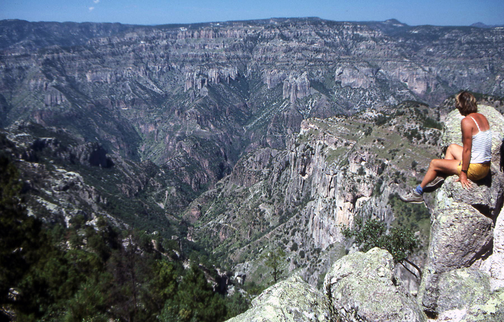 Hiking Copper Canyon-Mexico 1986