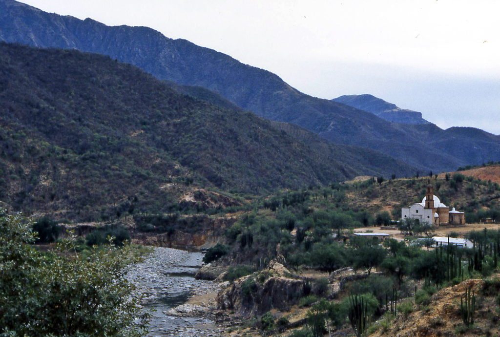 Hiking Copper Canyon-Mexico 1995-Batopilas-Satevo Mission Batopilas