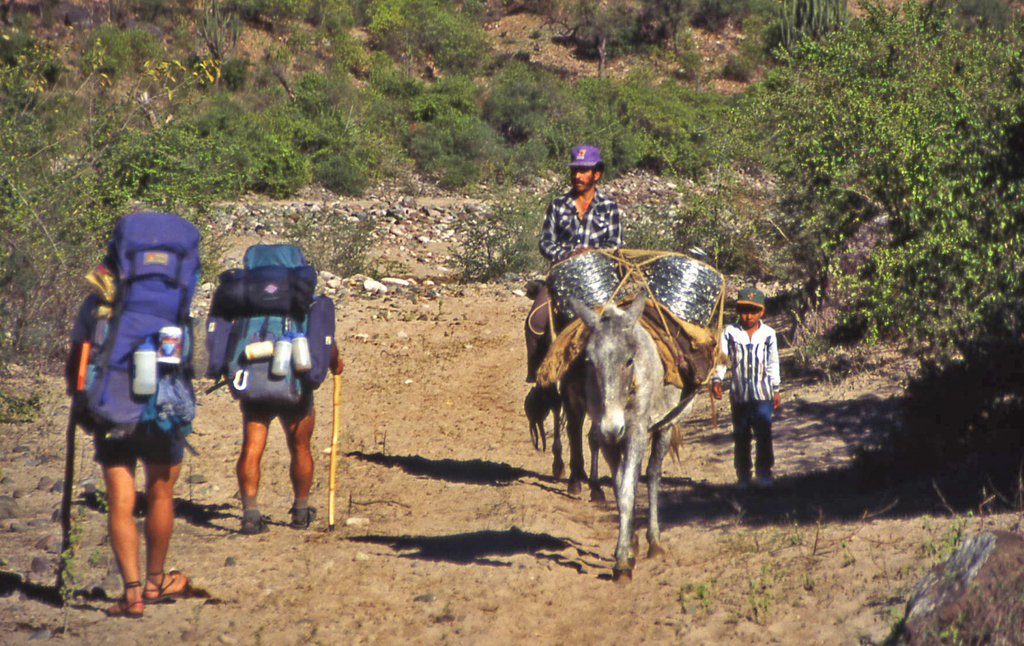 Hiking-Adventures-Hiking Copper Canyon-Mexico 1995-Batopilas