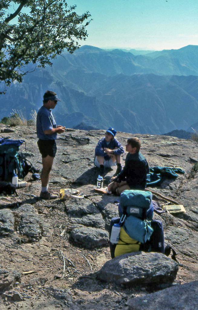 Hiking Copper Canyon-Mexico-First camp