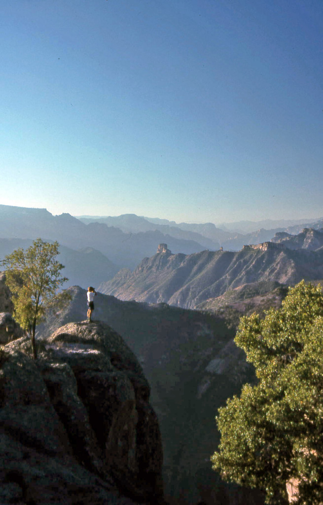 Hiking Copper Canyon-Mexico-views
