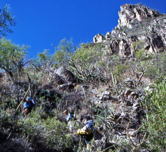 Hiking Copper Canyon
