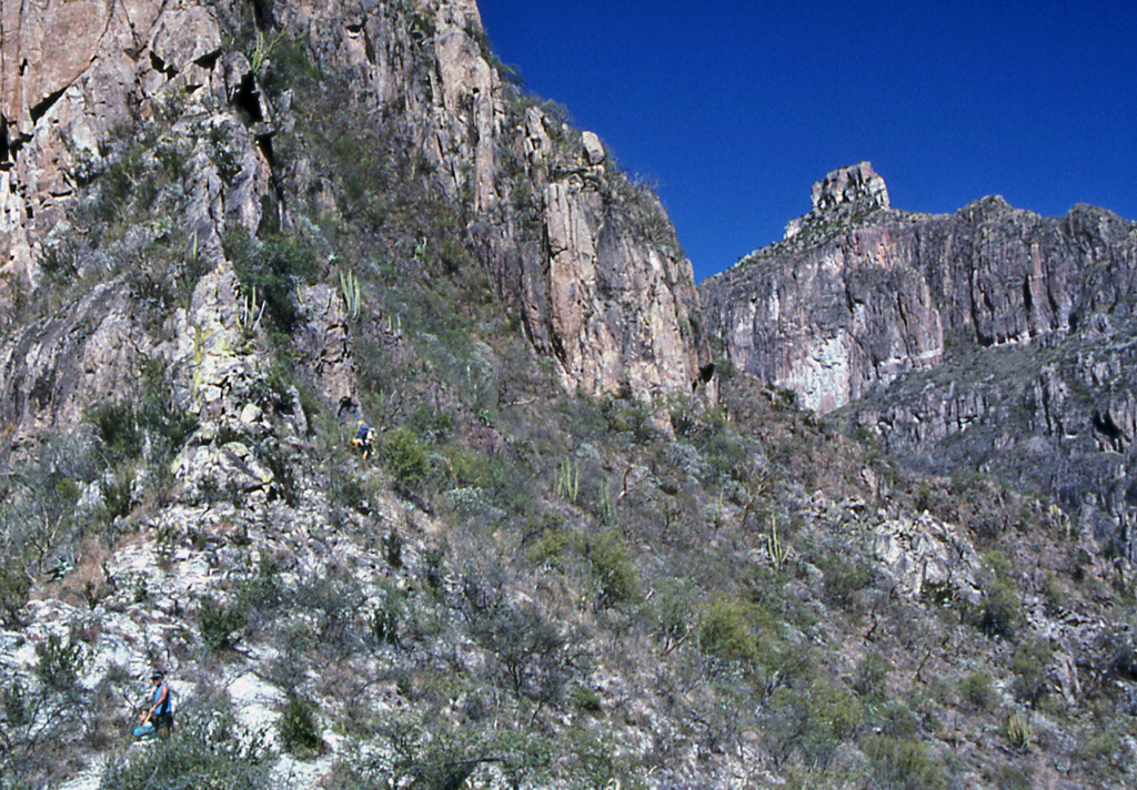 Hiking Copper Canyon-Is this the trail we are seeking?