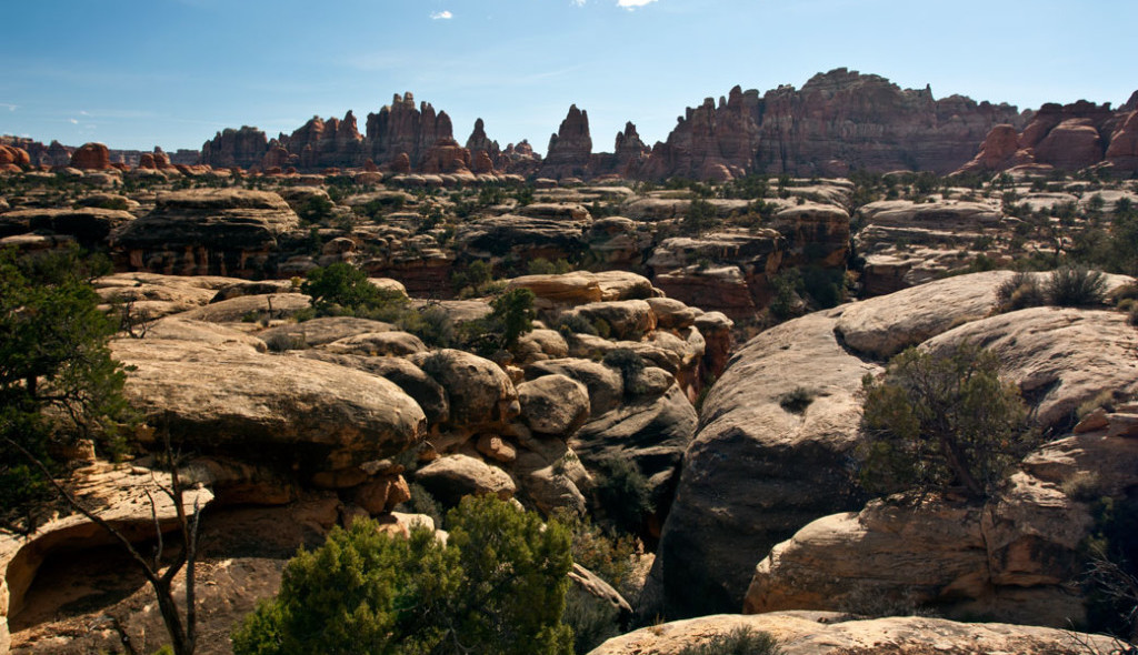 Hiking Utah-Hiking Arches-Canyonlands National Parks-Hiking-Needles-District-Devils-Kitchen-Loop