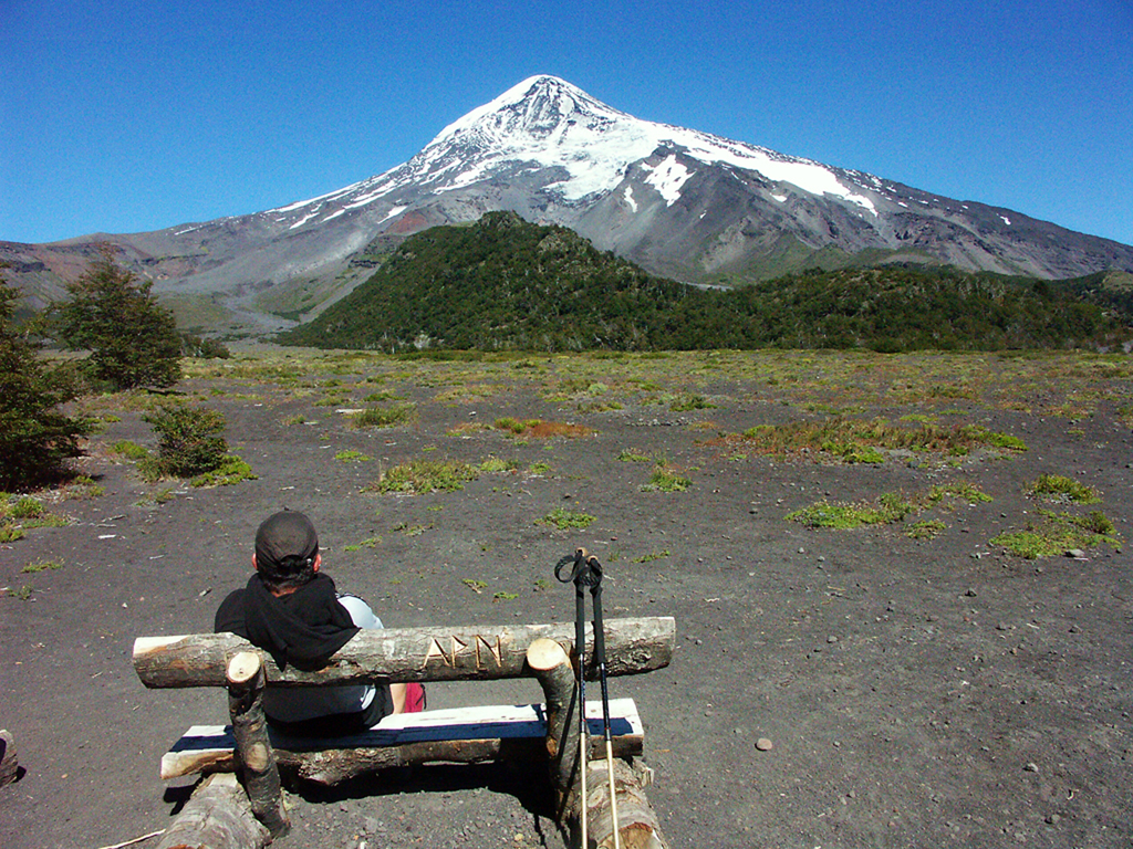 Hiking Volcan Lanin Argentina