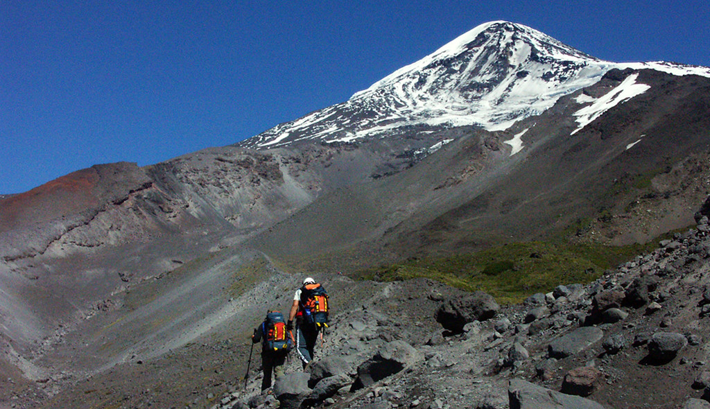 Hiking Mexico & South America- Volcan Lanin Argentina