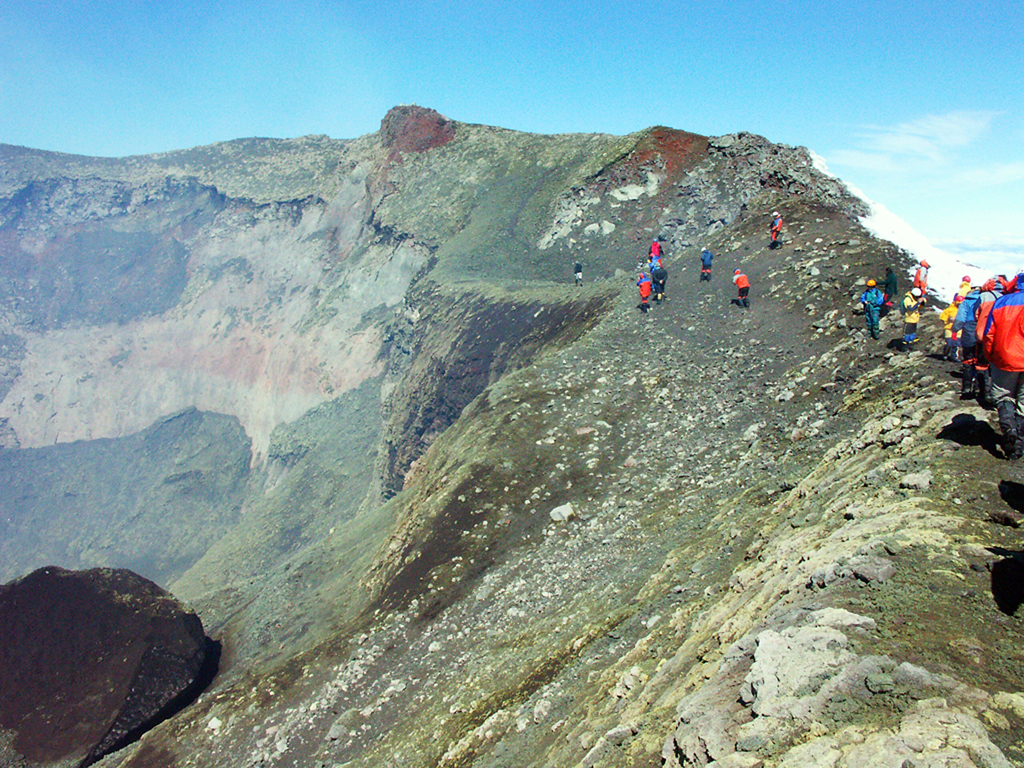 Hiking Volcan Villarrica Chile