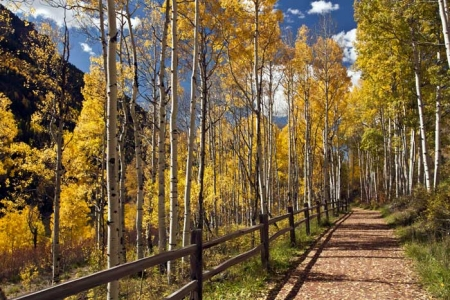 Hiking Telluride_River Walk Trail