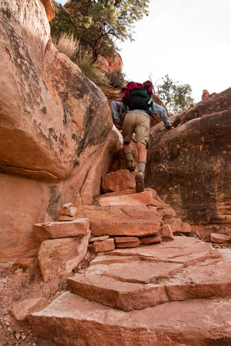 Hiking Arches-Canyonlands National Parks-Hiking Needles District