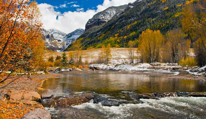 Hiking Telluride_View from River Walk Trail
