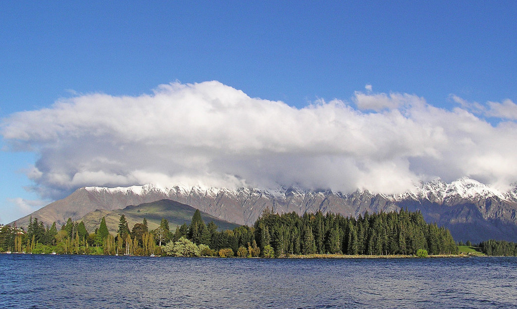 Bicycling South Island New Zealand-The Remarkables