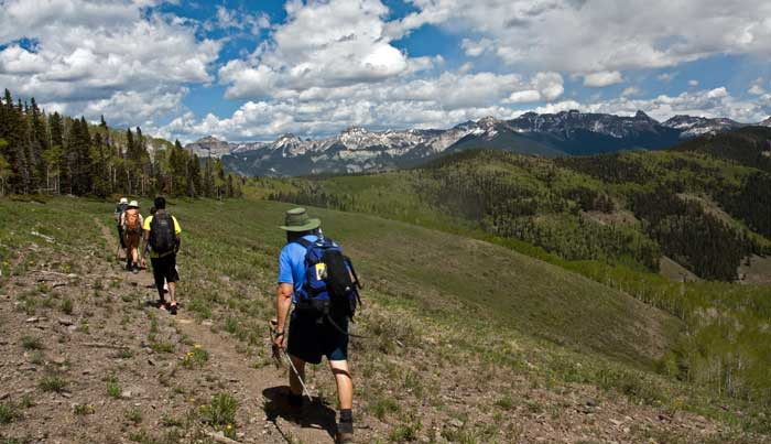Hiking Ouray, Silverton & Lake City_Colorado-Baldy Peak Trail
