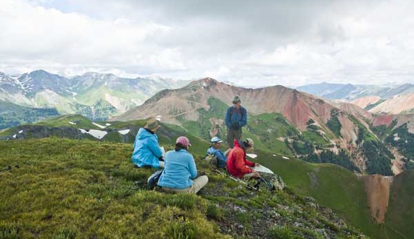Hiking Ouray-Silverton-Lake City Colorado-McMillan Peak