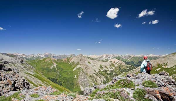 Hiking Ouray-Silverton-Lake City Colorado-Spencer PeakTrail