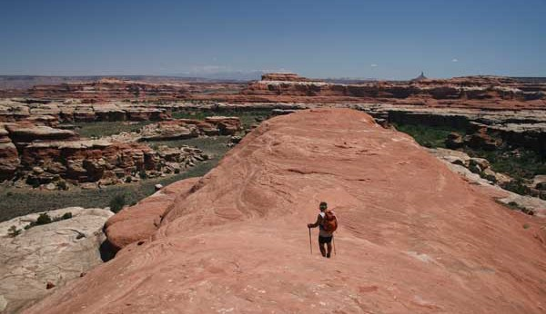 Hiking Utah-Hiking Arches-Canyonlands National Parks-Hiking Needles District-Peekaboo-Trail