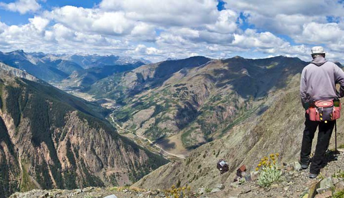 Hiking Ouray-Silverton-Lake City Colorado-Boarding House Trail