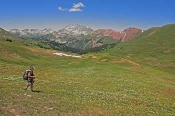 Hiking Crested Butte Colorado-Hasley Pass