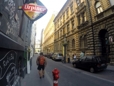 Bicycling-Hungary-Budapest-street scenes