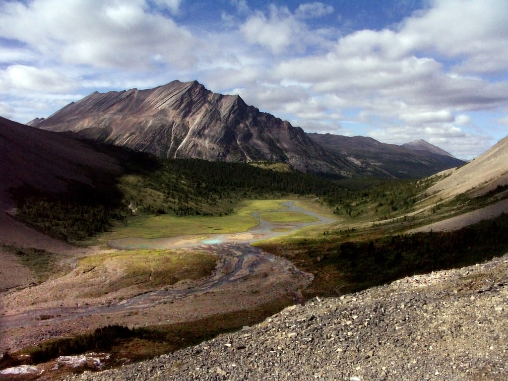 Brazeau Lake Loop-Brazeau River Valley