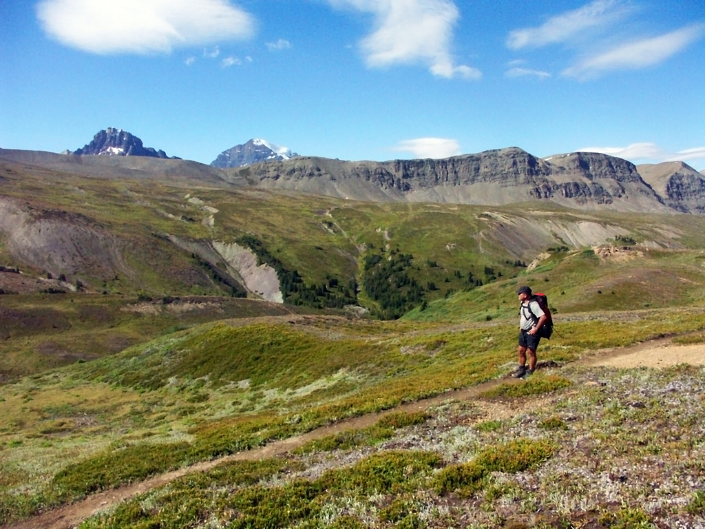 Brazeau Lake Loop- Jonas Camp to Poboktan Pass