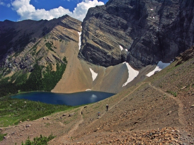Hiking Adventures-Canada-Waterton Lakes-Carthew Pass -Alderson Lake