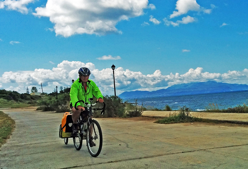 Bicycling Mainland Greece-Prevesa to Nea Thesis