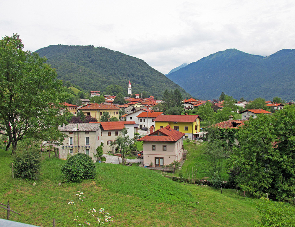 Bicycling Slovenia-Sea to Alps Route