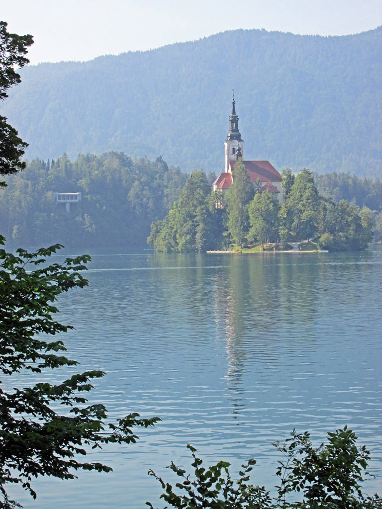Bicycling Slovenia-Lake Bled