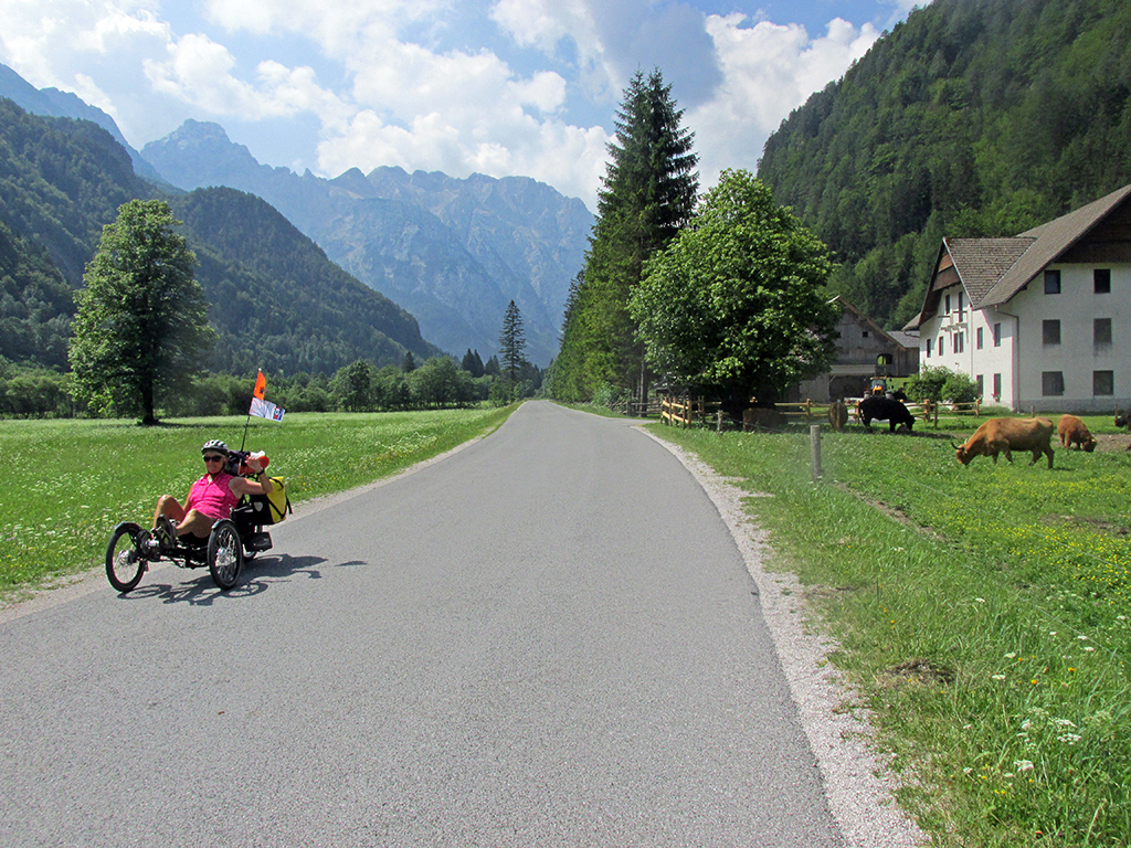Bicycling Slovenia-Logarska Dolina
