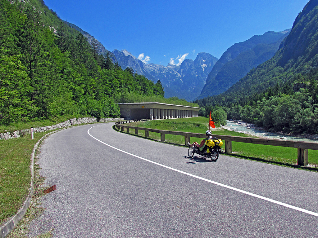 Cycle Slovenia-Sea to Alps Route