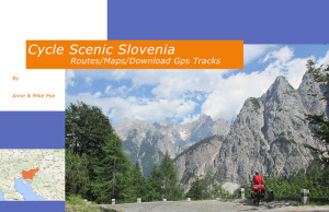 Cycle Scenic Slovenia-Front Cover-